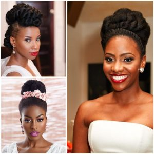 Bridal Hairstyles For Ladies With Natural Hair Fabwoman