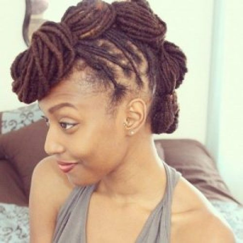how to style dread locs