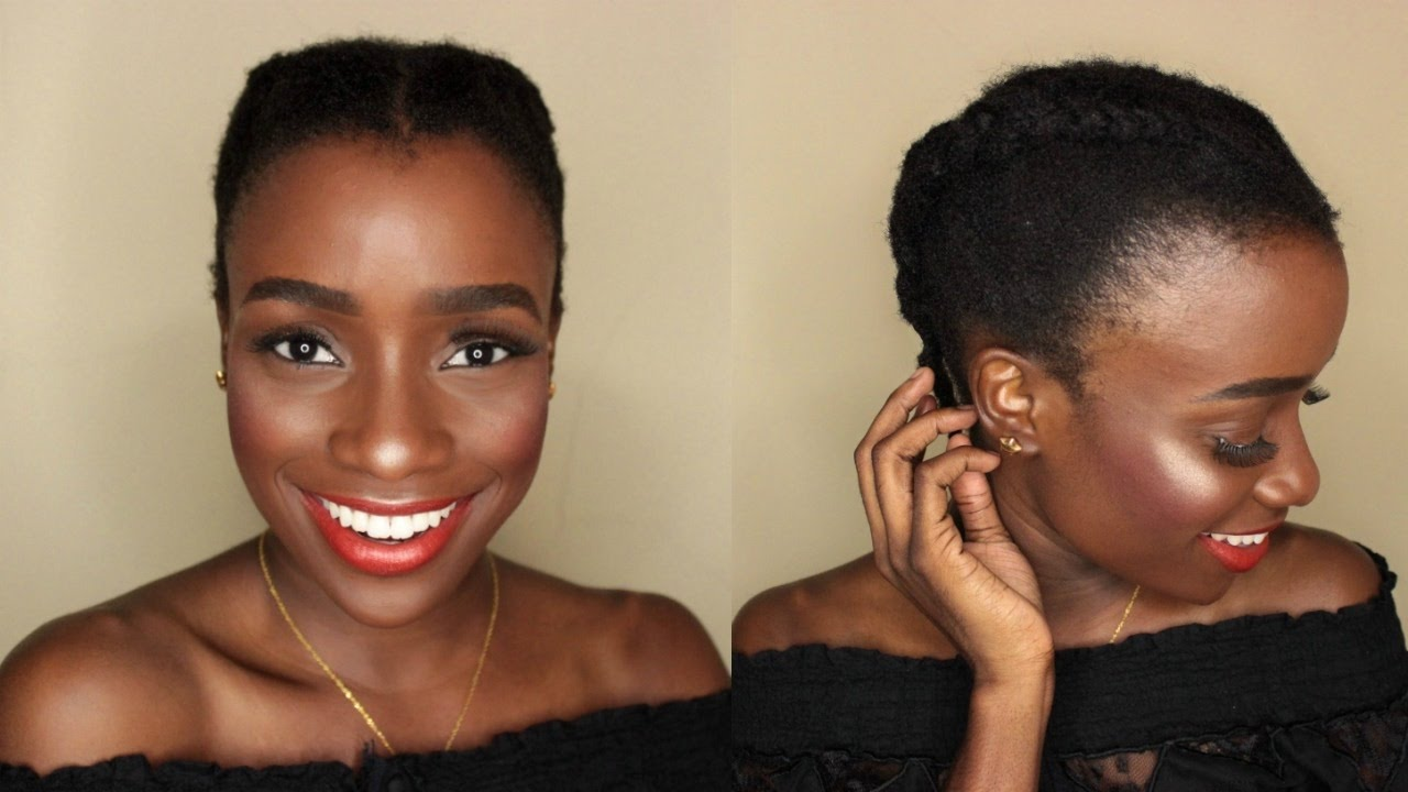 Short 4c Natural Hair Simple Hairstyles Beauty Fabwoman