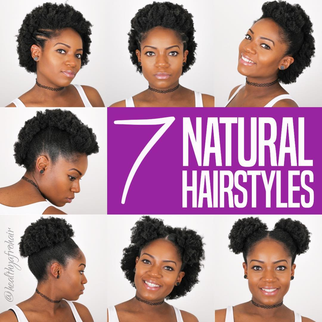 Easy Natural Hairstyles For 4c Hair Nigeria Fabwoman News