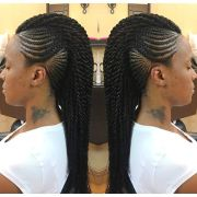 edgy braided mohawk hairstyles