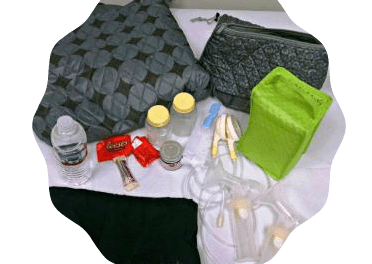 pumping_bag contents checklist