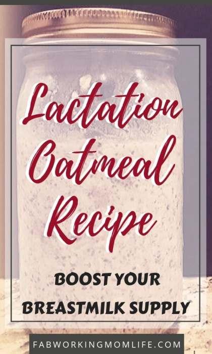 Lactation Oatmeal Recipe