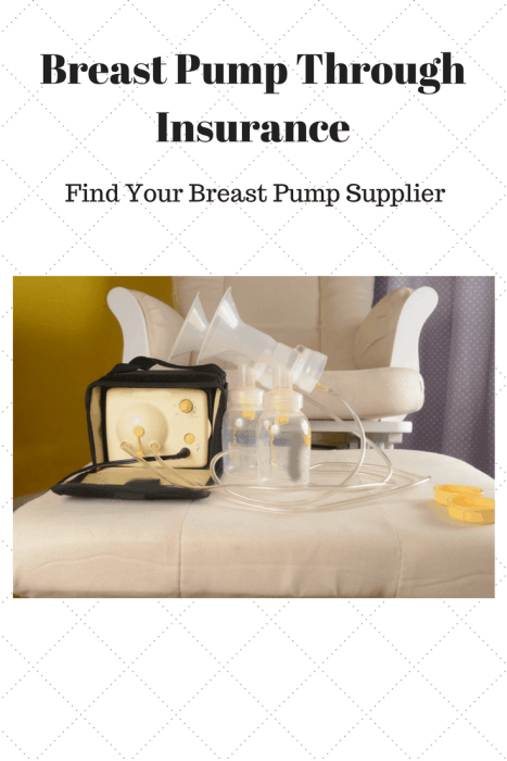 Get your Breast Pump Through Insurance