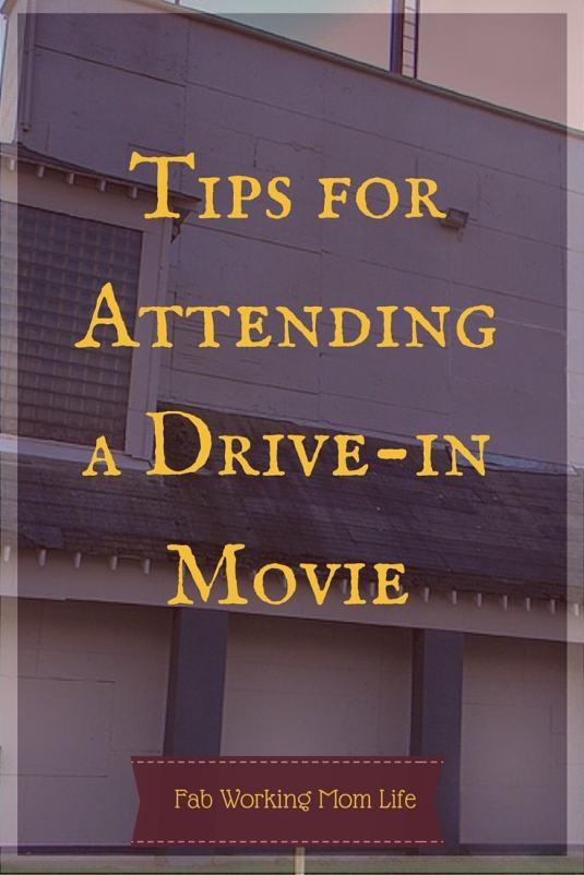 Tips for Attending a Drive-in Movie