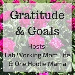 Gratitude & Goals banner