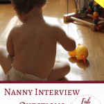 Nanny Interview Questions, Free Printable Checklist