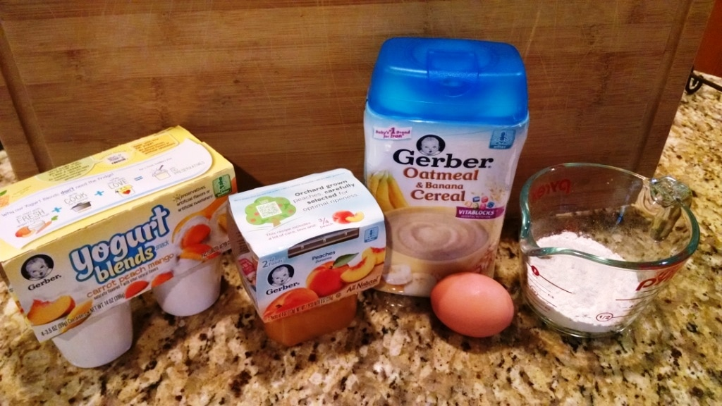 Peaches and Cream Pancakes ingredients