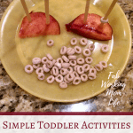 Simple Toddler Activities you can do Right Now with what you have on hand