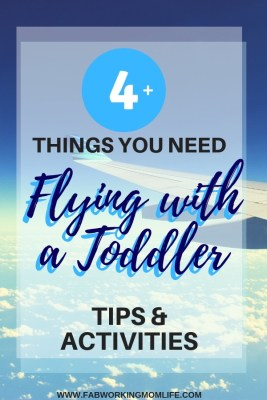 Flying with a Toddler Checklist and Toddler Airplane Activities