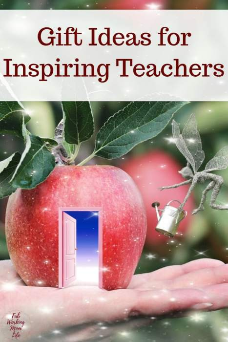 Inspiring Gift Ideas For Teachers Nannies Or Babysitters