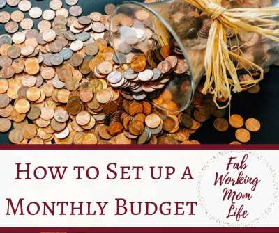 How to Make a Monthly Budget Like a Boss (with Printable)