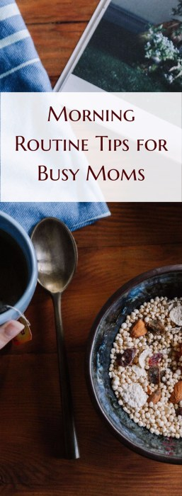 Morning Routine Tips for Busy Moms | Rock your busy mom morning routine | Grab your agenda workbook to organize your mom schedule. Morning Routine Tips for Busy Moms that Will Make You an Organized Rockstar