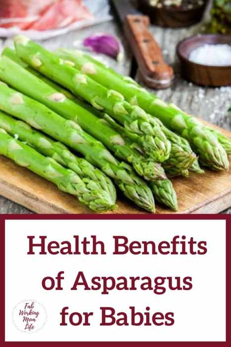 Health Benefits of Asparagus for Babies