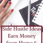 15+ Side Hustle Ideas to earn extra Money from Home and Pay Down Debt