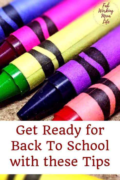 Get Ready for Back to School with these Tips #backtoschool | Fab Working Mom Life