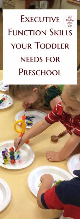 Executive Function Skills your Toddler needs for Preschool