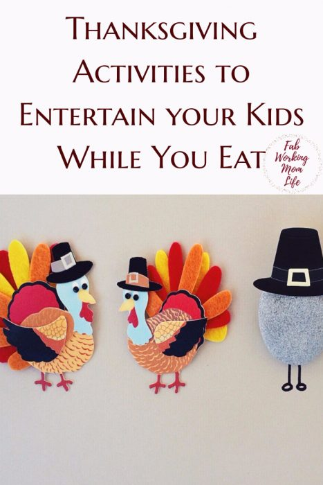 Thanksgiving Activities to Entertain your Kids While You Eat