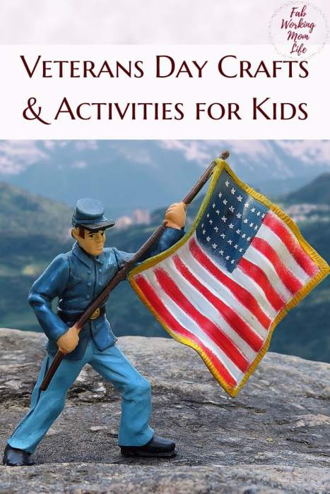 Veterans Day Crafts And Activities For Young Kids Fab Working Mom Life