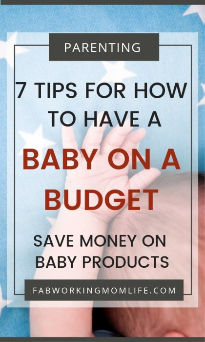 save money baby products