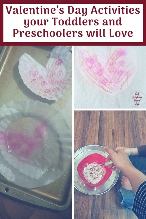 Try some of these STEAM Valentines Day Activities that your Toddlers and Preschoolers will Love - #preschoolsteam #steamactivity #valentinescrafts #toddleractivity #preschoolactivity