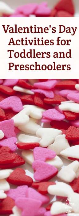 Valentines Day Activities for Toddlers and Preschoolers #valentinescrafts #toddleractivity #preschoolactivity