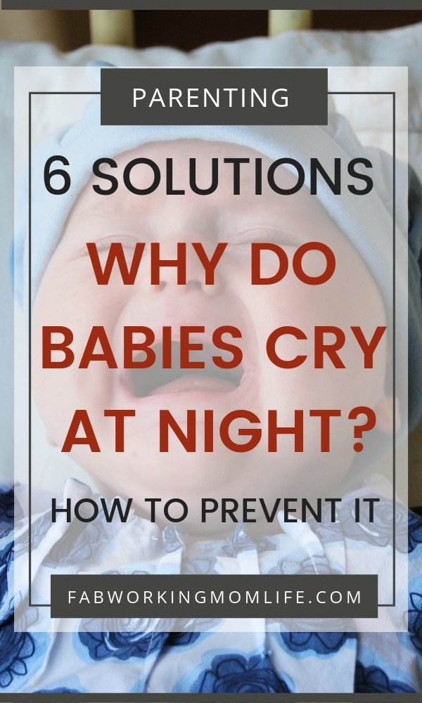 why do babies cry at night