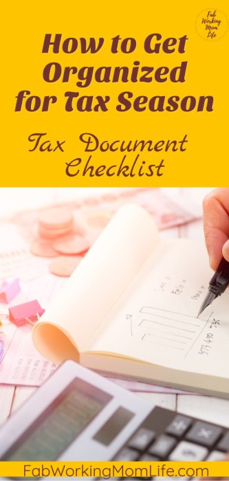 Are you wondering how to organize receipts for taxes categories? Do you need help preparing a tax organizer binder? Get Organized for Tax Season #incometax #budget #taxes #finances