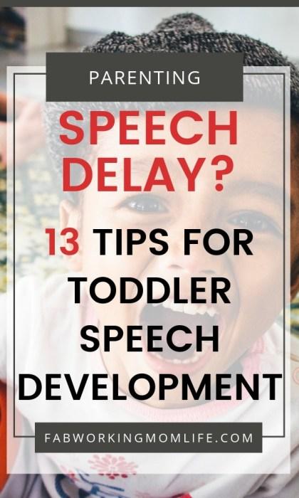 Toddler Speech Development