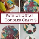 Patriotic Star Toddler Craft