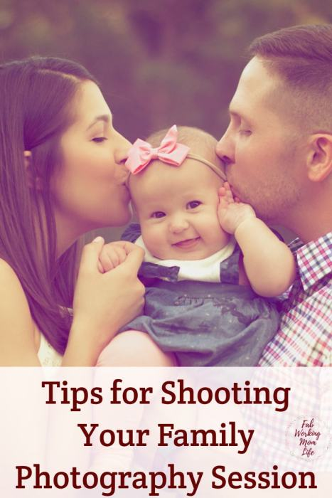 Tips for Shooting Your Family Photography Session