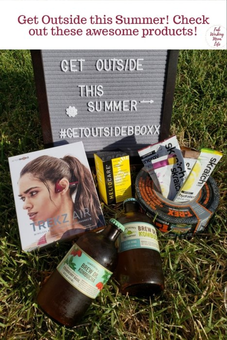 Get Outside This Summer #GetOutsideBBoxx   Fab Working Mom Life #summervacation #summerbreak #fitness