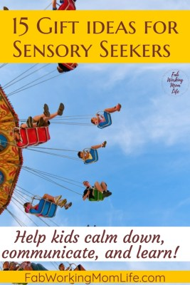 15 gift ideas for sensory seekers
