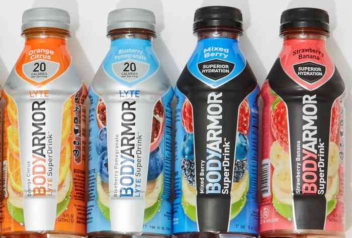 BODYARMOR Sports Drink & LYTE Sports Drink