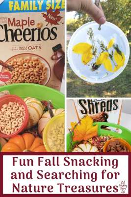 Fun Fall Snacking and Searching for Nature Treasures | Fab Working Mom Life