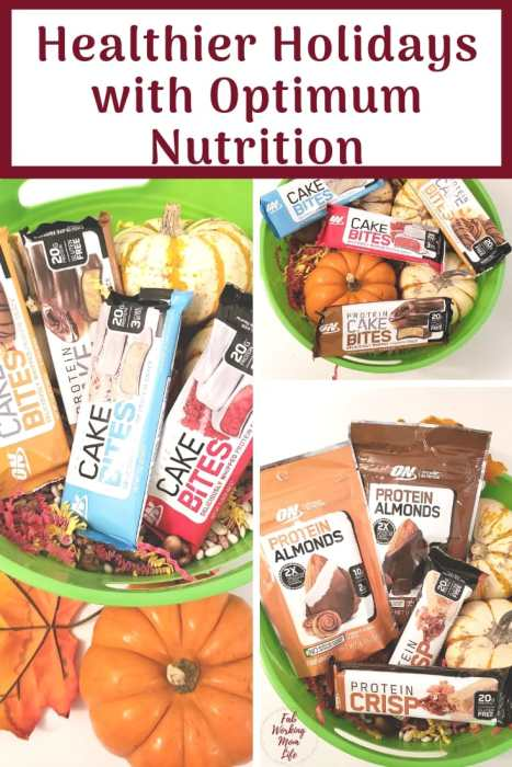 Healthier Holidays with Optimum Nutrition | Fab Working Mom Life