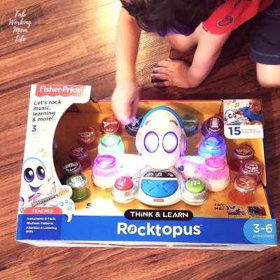 Music and Math Fun with Think & Learn Rocktopus, the Perfect Gift for Preschoolers