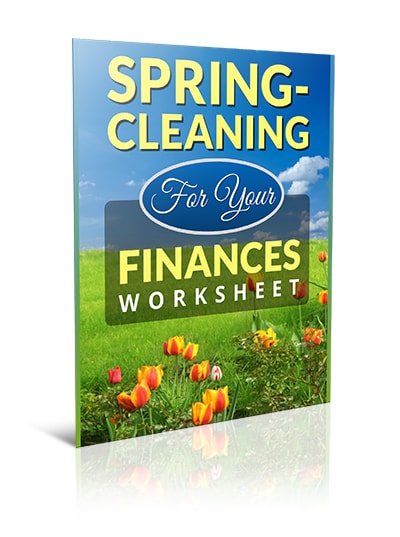 Spring-Cleaning for Your Finances Worksheet