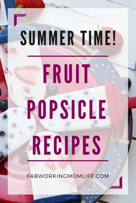 healthy homemade popsicles with fruit popsicle recipes