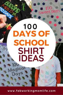 100 days of school shirt ideas