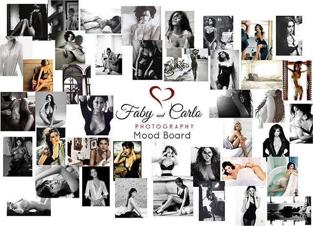 Monica Bellucci and Dolce and Gabbana Inspired Moodboard by Fabiana and Carlo Nicora by fabyandcarlo.com
