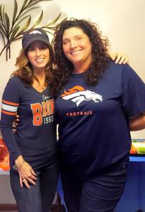 Bronco girls