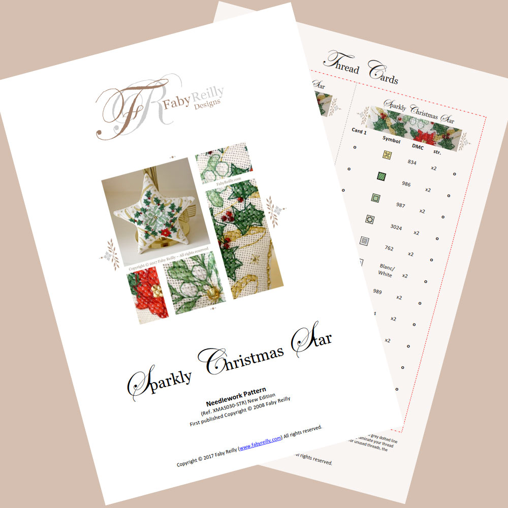 Sparkly Christmas Star featured pages