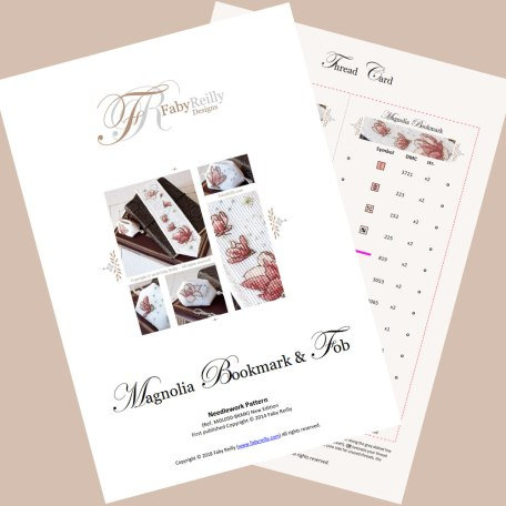Magnolia Bookmark featured pages