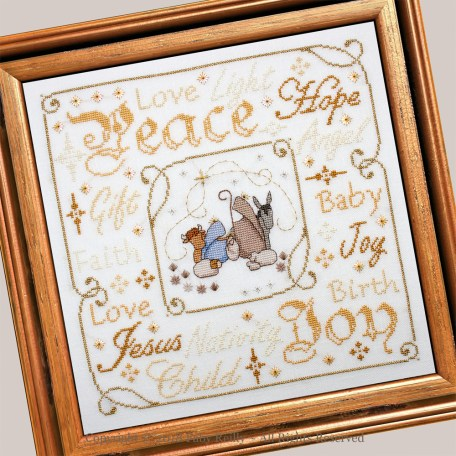 Nativity Frame FRD - Faby Reilly Designs