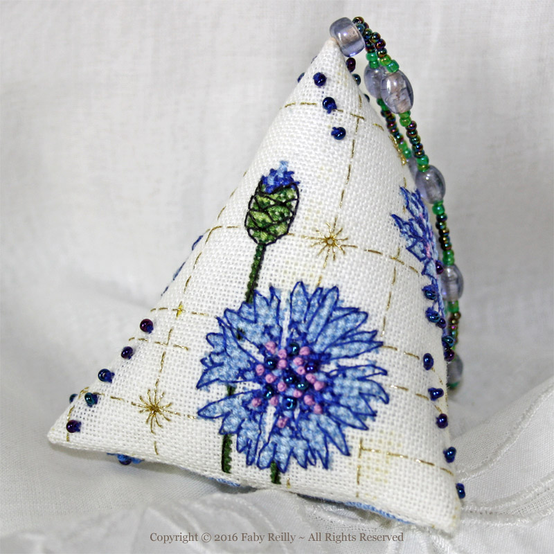 Cornflower Humbug - Faby Reilly Designs