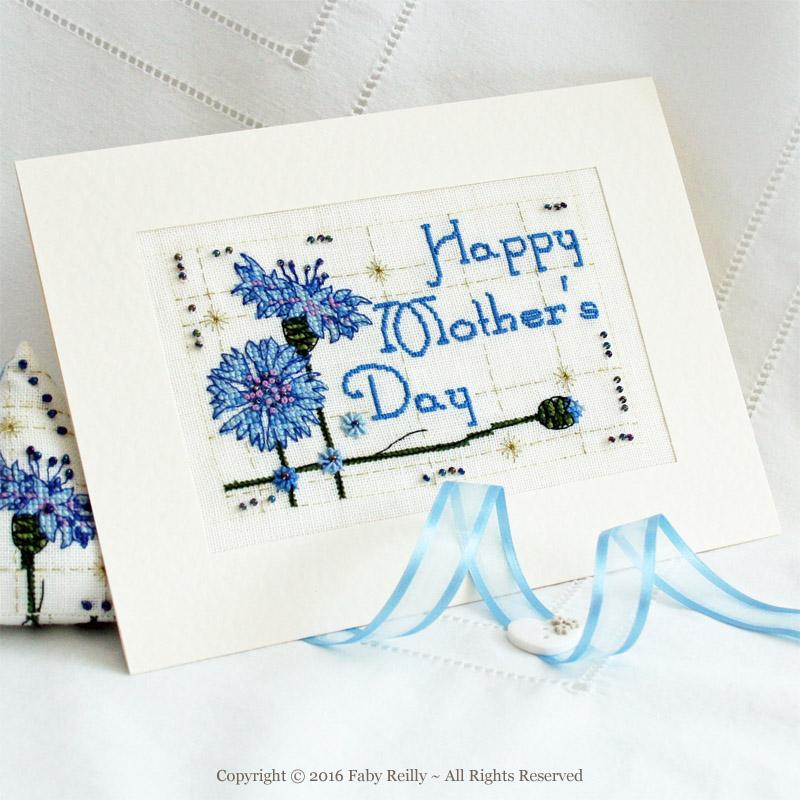 Cornflower Card - Faby Reilly Designs