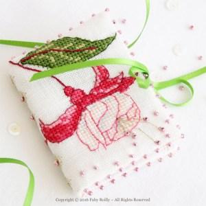 Fuchsia Needlebook