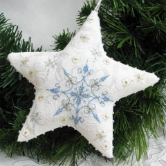 Frosty Star - Faby Reilly Designs