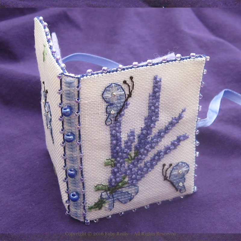 Lavender Needlebook - Faby Reilly Designs